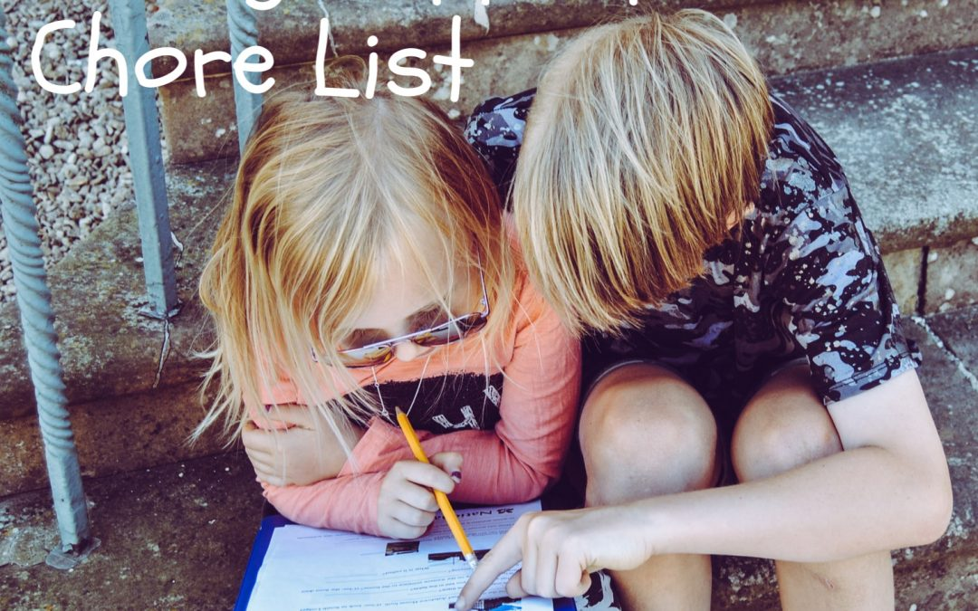 tHE age Appropriate chore list