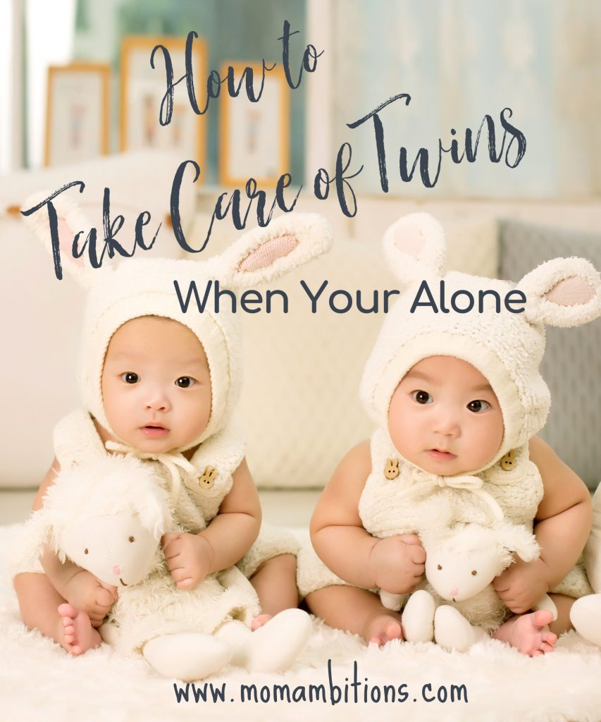 taking care of twins alone